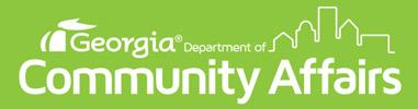 Georgia Department of Community Affairs Logo