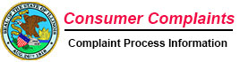 Consumer Complaint Information