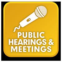 Botón de Reuniones y audiencias públicas