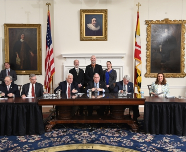 Governor Larry Hogan Signs Senate Bill 272