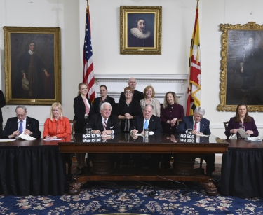Governor Larry Hogan Signs House Bill 596