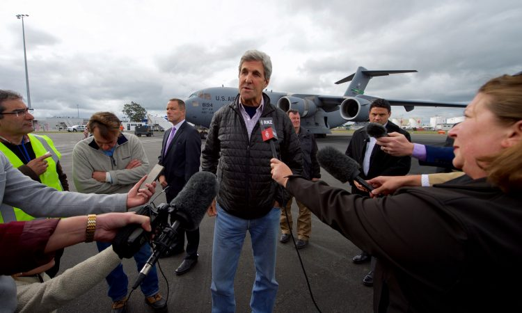 Secretary of State John Kerry's Remarks  After Returning From Antarctica