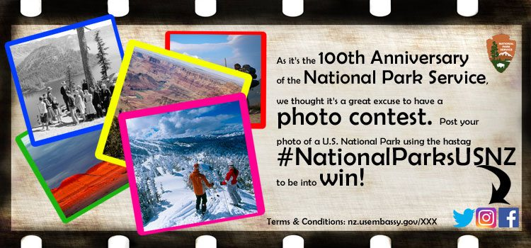 #NationalParksUSNZ Photo Competition