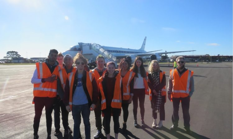 U.S. Embassy Youth Councilors find out about NASA's Atmospheric Tomography Mission