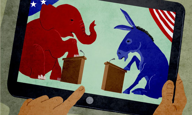 By TV, Twitter and Facebook, U.S. presidential debates are coming