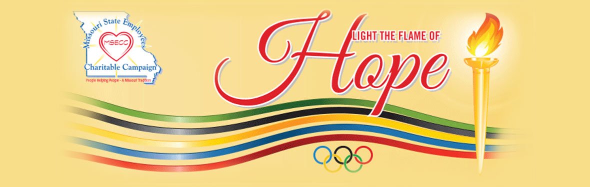 Missouri State Employees Charitable Campaign, Light the Flame of Hope