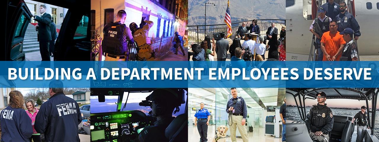 Building a Department employees deserve.
