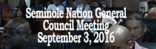 General Council Meeting September 3, 2016