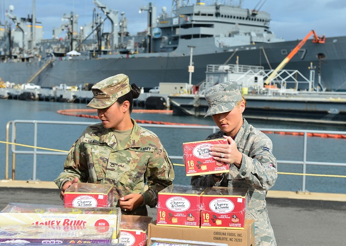 keeping food safe for servicemembers during RIMPAC