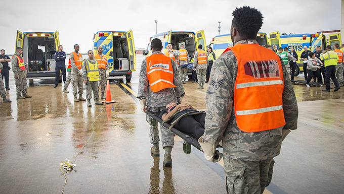 433rd AES plays important role in natural disaster exercise