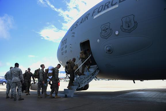 Mobility Air Forces enable JTF-Bravo deployment to Haiti