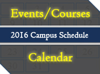 Courses and Events Calendar