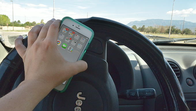 SFS cracking down on cell use by drivers