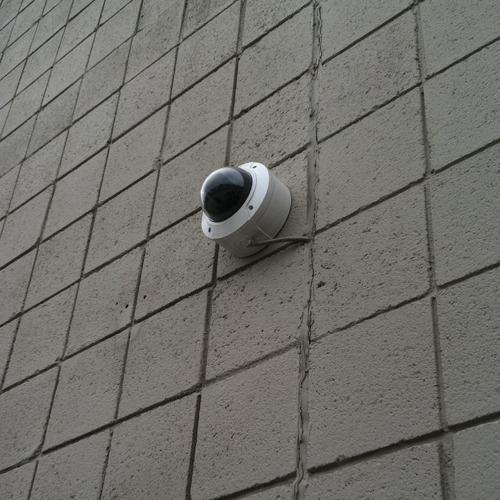 Bewakingscamera zonder beugel