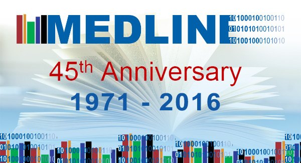 MEDLINE Celebrates Its 45th Anniversary!