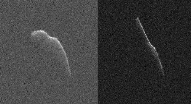 Asteroid 2003 SD220 Radar Images