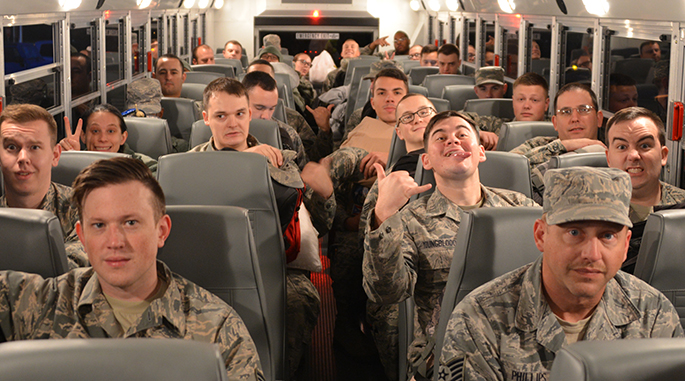 Airmen continue to deploy world-wide