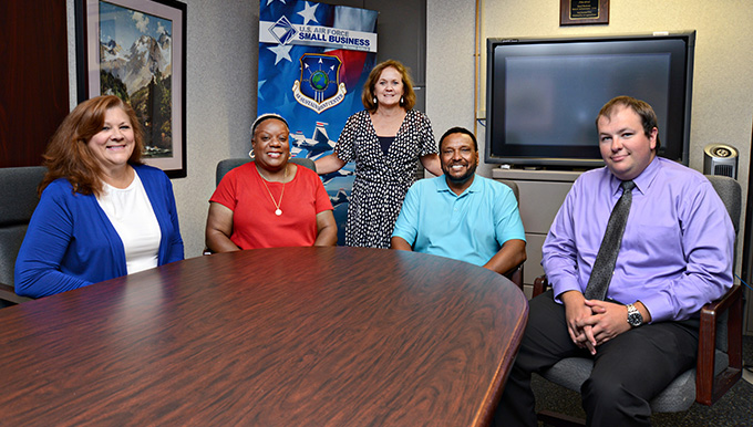 AFSC Small Business Offices exceed contracting goals in last three years