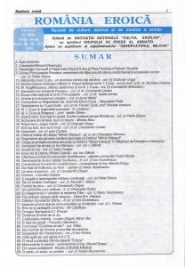 Romania Eroica nr. 6-7 1999 sumar