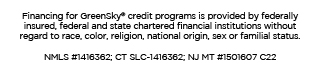 GreenSky credit programs financing is provided by a network of federally insured, federal and state chartered banks.