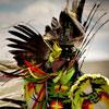 Blackfeet Indian dancer