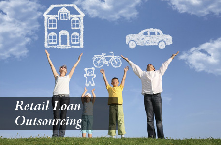 retail loan outsourcing company delhi