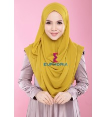 Damiaa Instant Shawl - ADC 25 - Golden Olive