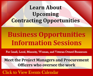 Business Opportunities Information Sessions