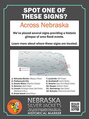 High Water Marks Signs