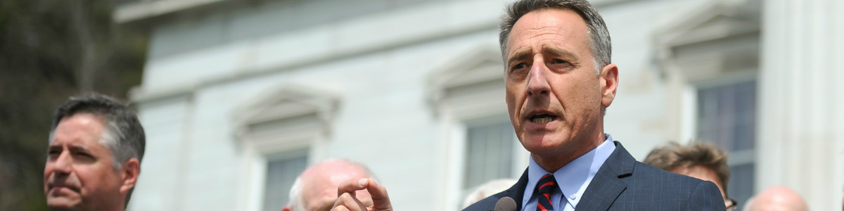Governor Shumlin giving a speach