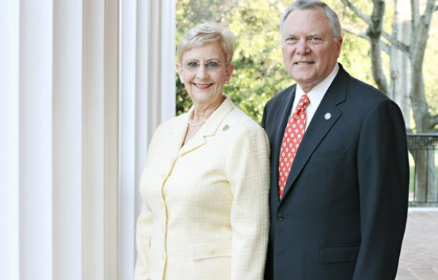 Governor Deal and First Lady Sandra Deal