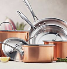 Calphalon Try Ply Copper Cookware