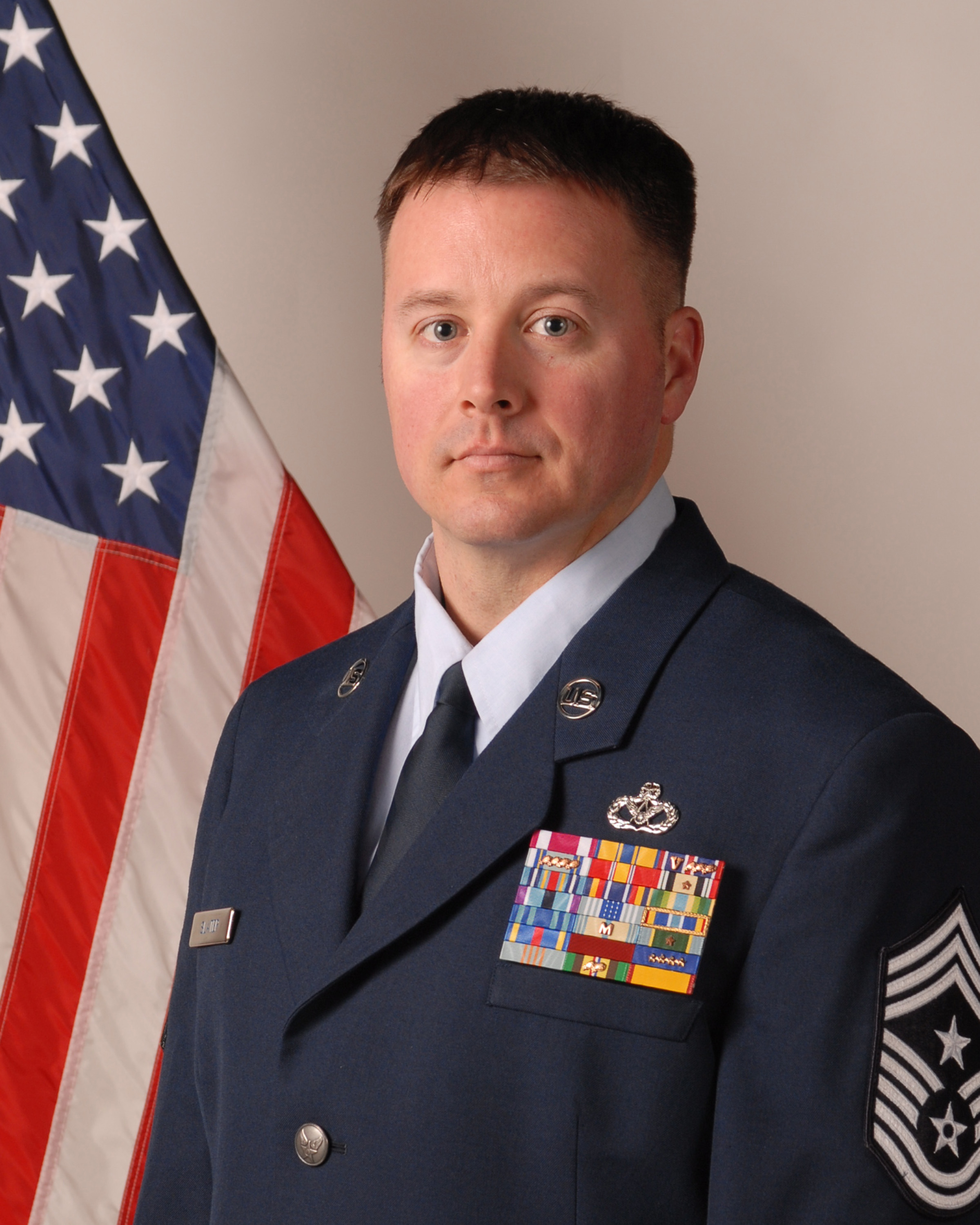 110th Wing Command Chief Master Sergeant Trever Slater