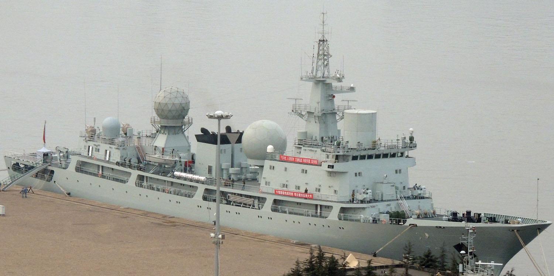 解放军再添电子侦察船