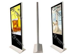 落地式广告机大理石纹款2011