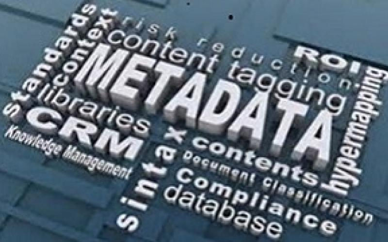 What's data without Metadata?