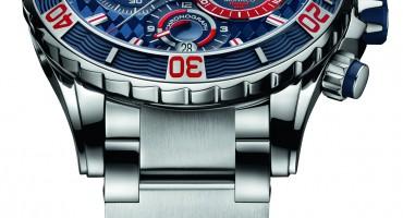 雅典表《摩纳哥潜水计时限量腕表》为游艇世界带来惊喜