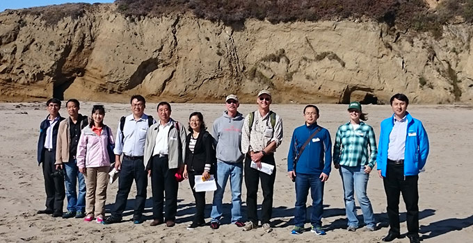 USGS Hosts Chinese Coastal Scientists