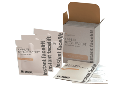 erase instant facelift skin tightening cream 10 pack toned