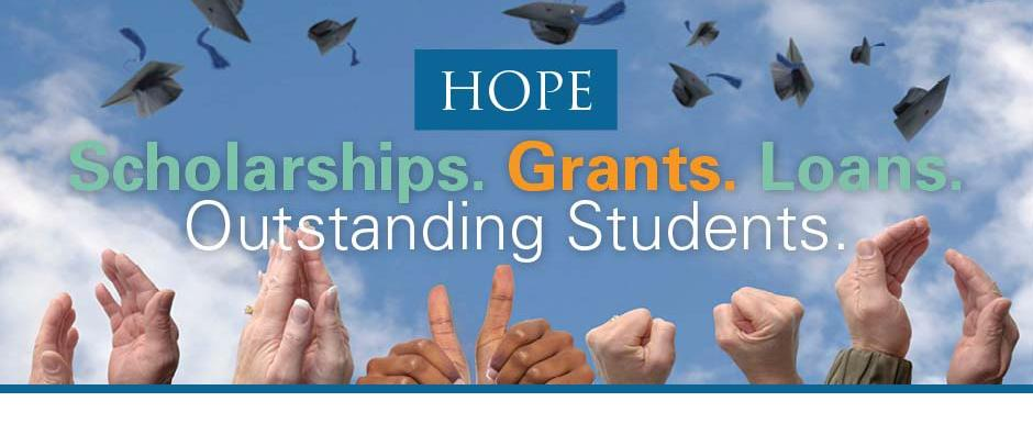 HOPE is Georgia's merit-based scholarship and grant program