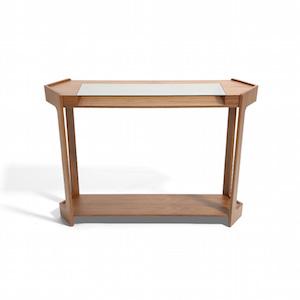 几何规整 古朴韵味玄关桌