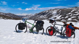 427    �veline & Marie-Pierre touring Norway - Kona Sutra and Surly Long Haul Trucker touring bikes