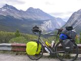 042  Stephen - Touring Alberta - Cannondale T2000 touring bike