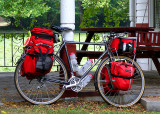 162  Ted - Touring through Virginia - Specialized Expedition touring bike