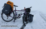 465    Iohan touring The Northwest Territories - Surly Troll touring bike