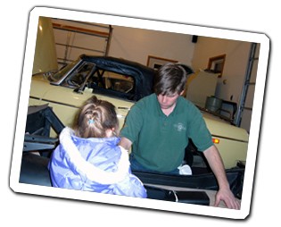 Brian McCullough Restoring a vintage MGA to Pristine Condition