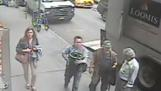 NY pedestrian grabs pot of gold off armored truck