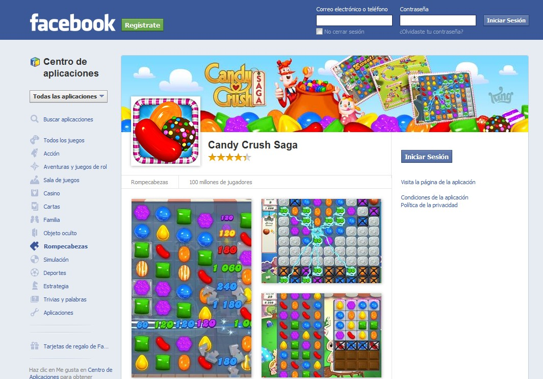 candy crush para PC