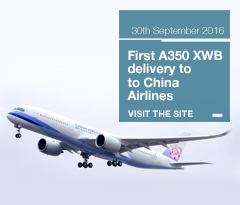 China Airlines A350 XWB delivery