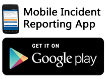 Mobile Incident Reporting App... Get it on Google Play!